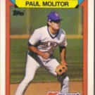 PAUL MOLITOR 1988 Topps KMart #17.  BREWERS