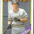 PAUL MOLITOR 1988 Topps #465.  BREWERS