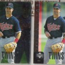 PAUL MOLITOR 1998 UD Special Edition Insert + sister.  TWINS