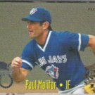 PAUL MOLITOR 1995 Fleer AS Insert #13 of 25 w/ Bagwell.  BREWERS