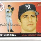 MIKE MUSSINA 2004 Topps Heritage #224.  YANKEES
