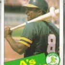 JOE MORGAN 1985 Topps #352.  A's
