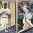 EDDIE MURRAY (2) 1993 Leaf #167.  METS
