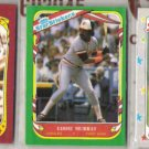 EDDIE MURRAY (3) Fleer Star Stickers 1986, 87 + 88.  ORIOLES