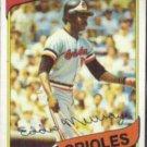 EDDIE MURRAY 1980 Topps #160.  ORIOLES