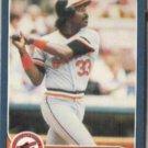 EDDIE MURRAY 1986 Fleer #282.  ORIOLES