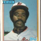 EDDIE MURRAY 1984 Purina #1 of 33.  ORIOLES