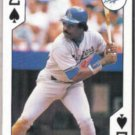 EDDIE MURRAY 1991 US Playing Cards  2-Spades.  DODGERS