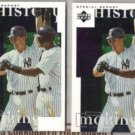TINO MARTINEZ (2) 1997 UD History in the Making #1.  YANKEES