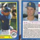 TINO MARTINEZ (2) 1990 Score Rookie #596.  MARINERS