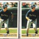 TINO MARTINEZ (2) 1993 Bowman #303.  MARINERS