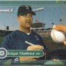 EDGAR MARTINEZ 2000 Skybox Impact #47.  MARINERS