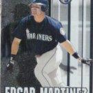EDGAR MARTINEZ 2000 Fleer Gamers #37.  MARINERS
