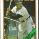 BILL MADLOCK 1988 Topps #145.  TIGERS