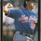 DENNIS MARTINEZ 1992 Leaf Black GOLD Insert #190.  EXPOS