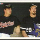 JACK McDOWELL 1994 Fleer Special #708 w/ Mussina. WHITE SOX