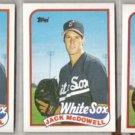 JACK McDOWELL (3) 1989 Topps #486.  WHITE SOX