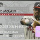 FRED McGRIFF 1995 Studio #23.  BRAVES