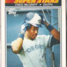 FRED McGRIFF 1990 Topps KMart Superstars #31.  JAYS