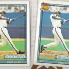 FRED McGRIFF (2) 1991 Topps #140.  BLUE JAYS