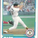 MARK McGWIRE 1988 Score Young Stars #1 of 40.  A's