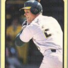 MARK McGWIRE 1989 Fleer All Stars Odd #29 of 44.  A's