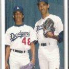 PEDRO MARTINEZ 1992 UD Bloodlines #79.  DODGERS