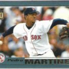 PEDRO MARTINEZ 2001 Topps #60.  RED SOX
