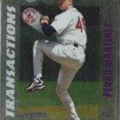 PEDRO MARTINEZ 1999 Stadium Club #398.  RED SOX