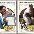WILLIE MAYS (2) 1992 Upper Deck Heroes #53 + 51.  GIANTS