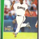 WILLIE McGEE 1993 Score Select #119.  GIANTS