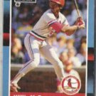 WILLIE McGEE 1988 Leaf #103.  CARDS