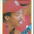 WILLIE McGEE 1988 Topps #160.  CARDS