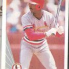 WILLIE McGEE 1990 Leaf #367.  CARDS