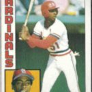 WILLIE McGEE 1984 Topps #310.  CARDS