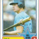 DALE MURPHY 1983 Topps All Star #401.  BRAVES