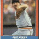 JACK MORRIS 1987 Fleer LE #28 of 44.  TIGERS