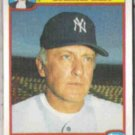 PHIL NIEKRO 1986 Quaker Granola #28 of 33.  YANKEES