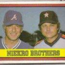 PHIL NIEKRO 1982 Donruss Brothers #613.  BRAVES