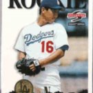 HIDEO NOMO 1995 Pinnacle Summit Rookie #141.  DODGERS
