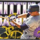 JOHN OLERUD 1994 Ultra Hitting Machines Insert #8 of 10.  JAYS