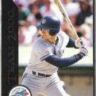 JOHN OLERUD 1992 Pinnacle Team 2000 Insert #65 of 80.  JAYS