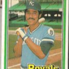 AMOS OTIS 1981 Donruss #104.  ROYALS