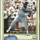 AL OLIVER 1981 Topps #70.  RANGERS