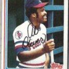 AL OLIVER 1982 Topps #590.  RANGERS