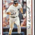 PAUL O'NEILL 1999 Bowman #20.  YANKEES