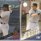 PAUL O'NEILL (2) 1993 Leaf #379 w/ Twin Towers.  YANKEES