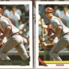 PAUL O'NEILL 1993 Topps GOLD Insert w/ sister.  REDS