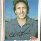 BOB OJEDA 1982 Topps #274.  RED SOX