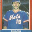 BOB OJEDA 1987 Fleer All Stars Odd #30 of 44.  METS